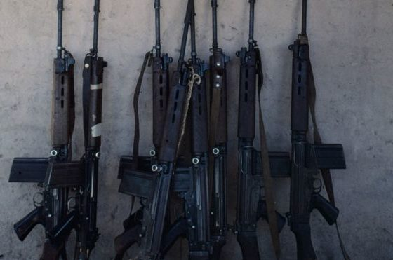 Thieves replace Paraguay police rifles with toy replicas