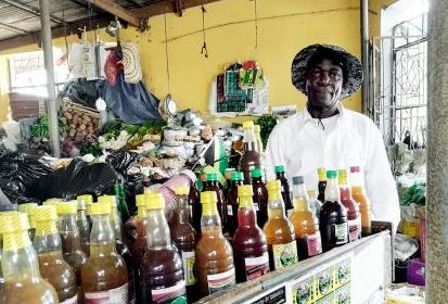 Jamaican 'Roots Man' claims his products can cure any disease