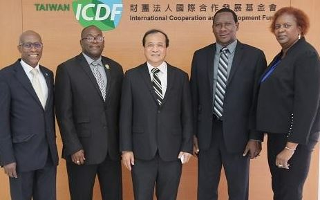 Two Ministers from Saint Lucia visit Taiwan