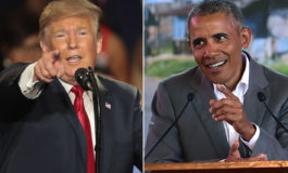 Trump claims his approval rating is better than Obama's 'by far'