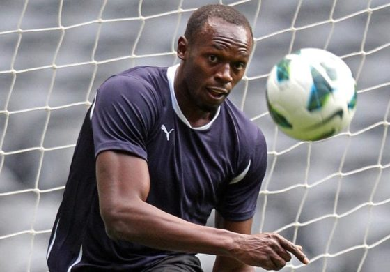 Bolt struggling to reach football fitness levels