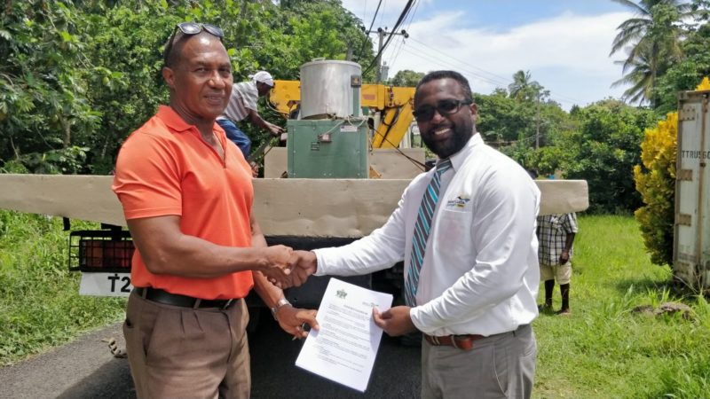 Donation of Equipment to MOA