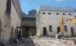 Conservation of 'Royal Gaol' at Castries