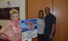 Antiguan Environmentalist Supporting St Lucia National Trust in Fight to Block Dolphin Park