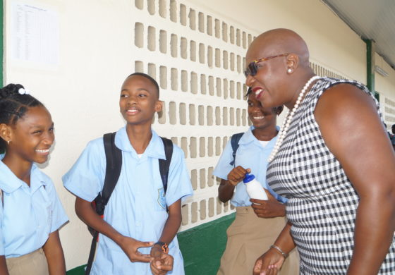 Government satisfied with Infrastructural Works on Schools