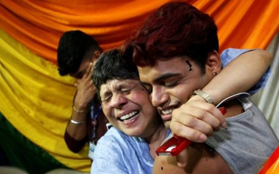 India legalises gay sex in landmark ruling
