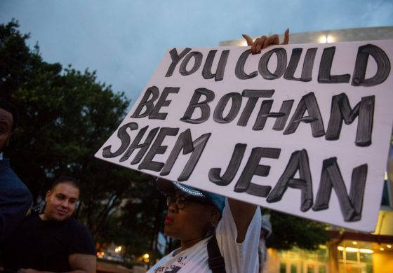 Botham Shem Jean, Shot by a Dallas Cop, Remembered at a Vigil Calling for Action