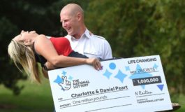 Woman pranks husband over lottery - then wins £1m
