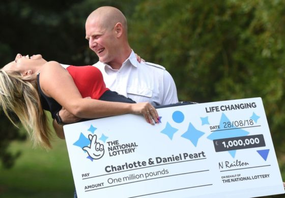 Woman pranks husband over lottery – then wins £1m
