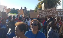 Pierre 'overwhelmed' by turnout for protest march