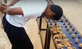 Man breaks World Record for smashing walnuts with his head