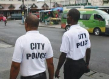 St. Lucia Castries city police