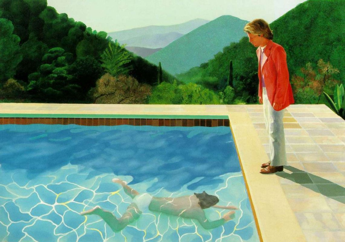Hockney pool painting fetches $90.3 million