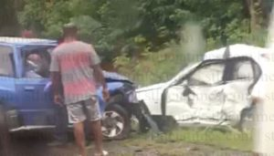 Female 'Unresponsive', Two Males Injured In Micoud Accident
